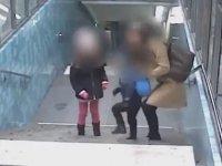 İsveç Stockholm'da Kadına Saldıran Mülteci