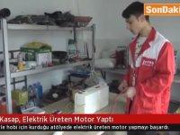 Elektrik Üreten Motor Yapan Genç - Amasya