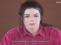 Michael Jackson İftiralara Cevap Veriyor (Türkçe Altyazılı)