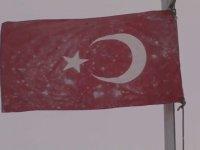 TSK'dan Donan Bayrak - Şanlı Bayrağımız