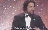Robert De Niro  Oscar Ödülü Konuşması 1981  Raging Bull