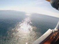 Batan Teknenin Burnundaki Suriyeliyi Kurtaran Sahil Güvenlik