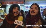 Bize Bir Şarkı Söyler misiniz  Sokak Röportajları
