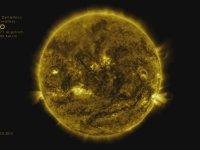 Güneş'in Time Lapse Videosu
