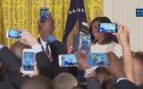 Obama'nın Vatandaşı Taklit Etmesi; Hey Michelle Giiiiirl