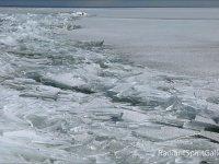 Superior Gölünde Buzların Dansı