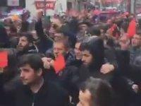 Trabzonsporlular'ın Kırmızı Kartlı Eylemi