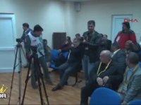Tugay Kerimoğlu'nun Basın Mensuplarına İyi Akşamlar Diyip Çıkıp Gitmesi