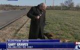 Muhabir Köpek Yüzünden Canlı Yayını Bırakıp Kaçtı