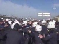 Bursa'da İşçi Eylemine Polislerin Saldırması