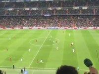 Real Madrid Taraftarı'nın Totti'yi Alkışlaması