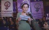 Taksim'de Feminist Gece Yürüyüşü