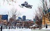 Kar Motoruyla Şehrin Altını Üstüne Getiren Levi LaVallee