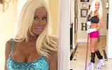 Çok Para Harcayarak Barbie'ye Benzemeya Çalışan Kadın