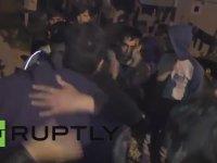 Suriyelilerin Türkiye'ye Geri Dönmek İstemiyoruz Eylemi