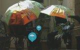 Yağmuru Önceden Tahmin Eden Şemsiye  Oombrella