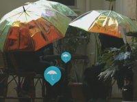 Yağmuru Önceden Tahmin Eden Şemsiye - Oombrella