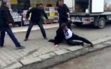 Chp İl Başkanı'na Sokak Ortasında Dayak Atılması  Düzce
