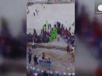 Irak'taki Patlama Anının Kamera Görüntüleri