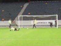 Zlatan İbrahimovic İçin Sıradan Bir Gol Antrenmanı
