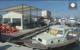 İzmirlilerin Dikili'de Mülteci Kampı İstemiyoruz Eylemi