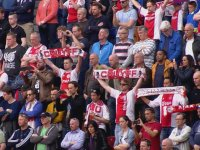Ajax Taraftarlarından Johan Cruyff Anması
