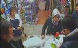 Hırsızlık Yaparken Kameraya Yakalanan Kadın
