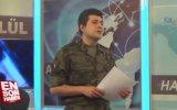 Polis Özel Harekat Üniformasıyla Haber Sunan Spiker