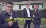ZDF Yetkililerinin A Haber Ekibine Acayip Sert Tepkisi Öyle Böyle Değil