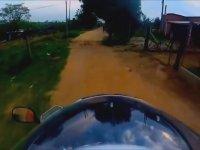 Brezilya Motorlu Polis Kovalamacaları