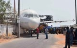 Taşınmak İstenen Uçak Sokağa Düşmesi