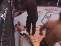 Rakibinin Kafasına Şut Çekmek - UFC 197