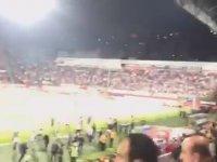 Trabzonspor - Fenerbahçe Maçında Olayların Periscope'dan Canlı Yayınlanması