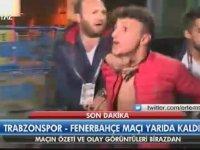 Trabzon'u Karıştıran Taraftarın Gözaltına Alınması