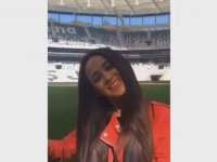 Vodafone Arena'da Evlenme Teklifi