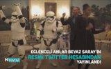Beyaz Saray'da Star Wars İle Kopan Obama Sülalesi