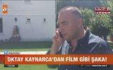 Oktay Kaynarca'dan Annesine Film Gibi Şaka