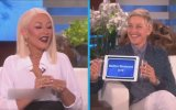 Christina Aguilera'dan Mükemmel Taklitler  The Ellen DeGeneres Show