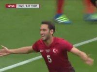 Türkiye'nin İngiltere'ye Attığı İlk Gol!