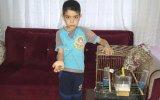 Kaybolan Kuşunu Bulana 5 TL Verecek Çocuk  Osmaniye