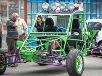 Buggy Tarzı Hurda Parçalarla Yapılan Araç - Flying Monster