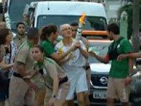 Olimpiyat Meşalesinin Ağır Gelmesi!
