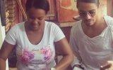Nusret'in Dominikli Kadının Baldırını Tokatlaması