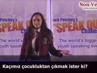 Filistinli Leanne Mohamad'ın Komite Tarafından Silinen Konuşması