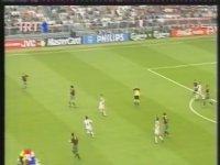 Euro 2000 Alpay'ın Gördüğü Kırmızı Kart
