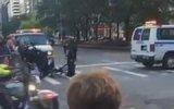 Obama'nın Konvoy Güzergahına Yanlışlıkla Giren Bisikletlinin Sonu