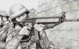 12 Ressam Askerin Kaleminden Operasyon Resimleri