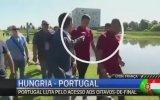 Muhabirin Mikrofonunu Göle Atan Ronaldo