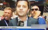 TRT Spor Muhabirinin İngiliz Taraftara Karşı Sabır Testi