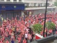 20 Bin Kişilik İşçi Koteji (Fransa'da Grev)